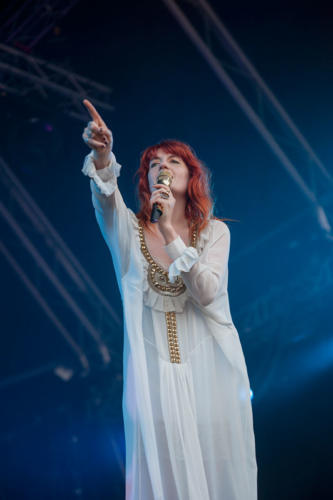 Florence Welch de Florence and the Machine